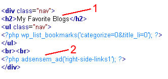 Adding Adsense Code to Blog Post